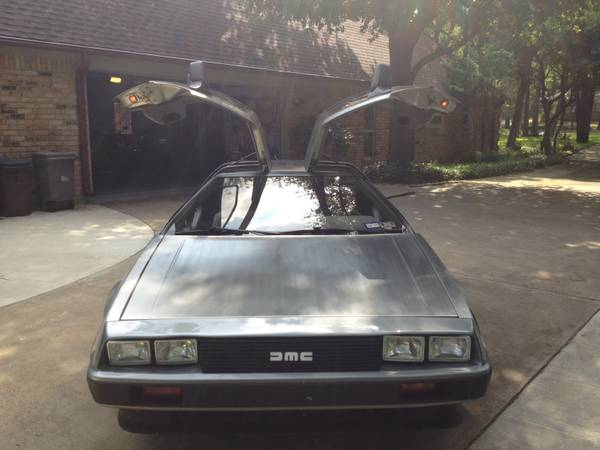 1981 Delorean for Sale Dallas Texas