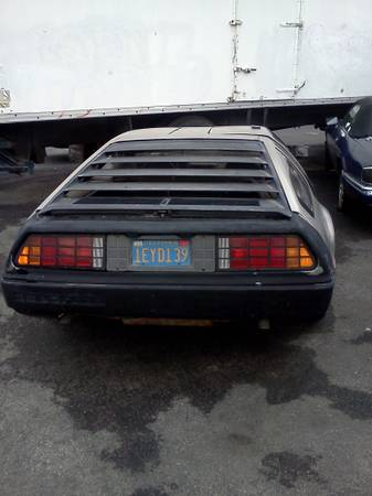 project delorean for sale orange county