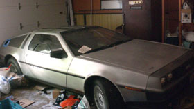 1983 Delorean For Sale - Signed By John Delorean