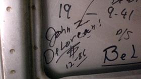 1983 Delorean For Sale - Signed By John Delorean