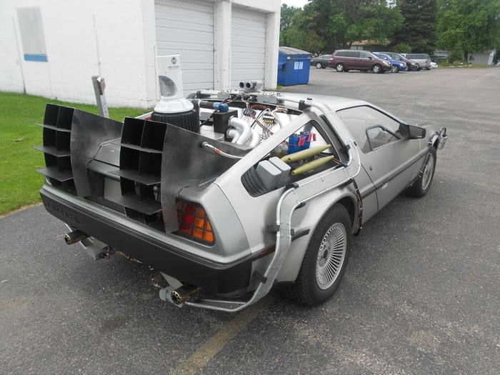 back to the future delorean for sale
