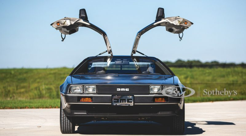 delorean auction